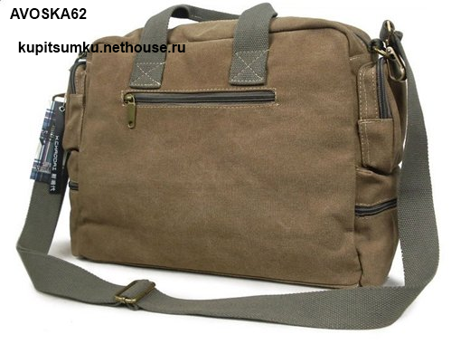 Тканевая сумка через плечо женская 15