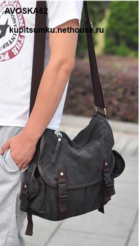 Купить сумки через плечо тканевые