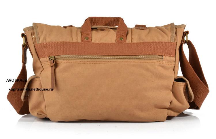 Тканевая сумка через плечо женская 94