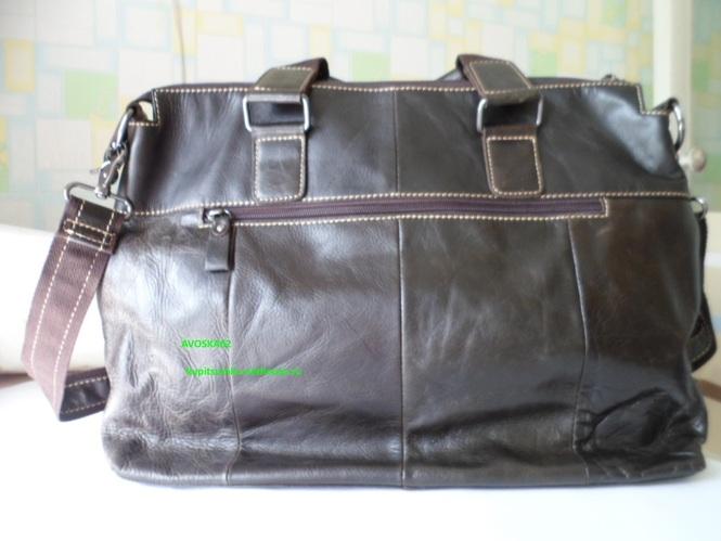 Реальный обзор мужской кожаной сумки Отзывы мужские кожаные сумки через  плечо ... 7b472faa3e7